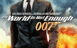 007 :  The World is Not Enough  -  (Blu-ray)