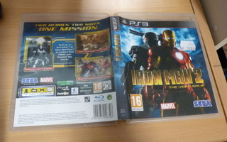 Iron Man 2 The Video Game    ( ps3 )