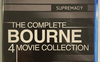 Bourne  4 Movie Collection - Blu-ray ( uusi )