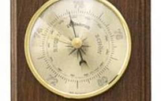 Mittarisetti ilmapuntari/kosteus-/lämpömi tt ari 20.1000.03