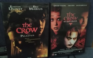 the CROW - Trilogia (3 DVD) 3 elokuvaa