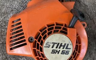 Stihl  SH 55 lehtipuhaltimen,käynnistin
