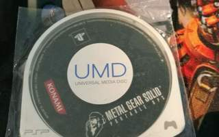 PSP: Metal Gear Solid: Portable Ops (JAPANI)
