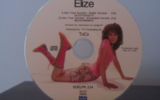 EliZe – Into Your System PROMO CDr-Single
