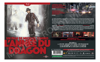 YEAR OF THE DRAGON BLU-RAY (1985), NEW - FREE SHIPPING