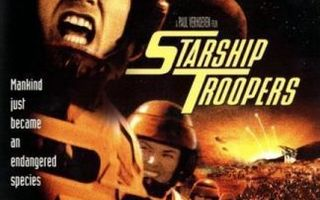 Starship Troopers  -  Widescreen  -  DVD
