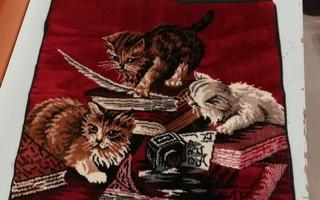 Kissa tyynynpäällinen tms