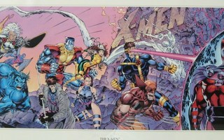 Lithograph 84 - Chiodo, Lee, Williams - The X-Men