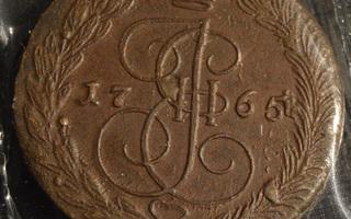 Venäjä 1765 EM5 Kopeekkaa (LLL)