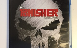 The Punisher Collection (Blu-ray) 2004 & 2014