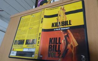 Kill Bill Vol. 1 & 2   ( 2 x dvd )