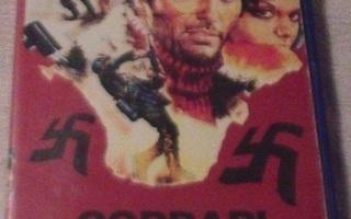 Corbari - natsien kauhu ( Valentino Orsini ) VHS kasetti Fix