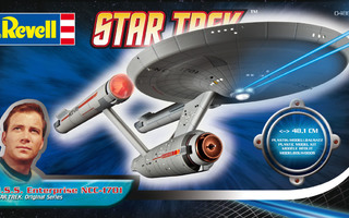 STAR TREK U.S.S. ENTERPRISE NCC-1701 1:600	(23 599)	revell
