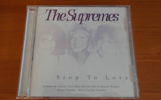 The Supremes:Stop To Love CD.Hieno!