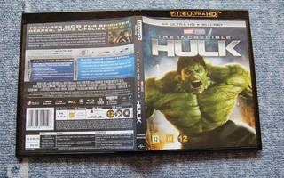 The Incredible Hulk - 4K UHD HDR + BD [suomi]